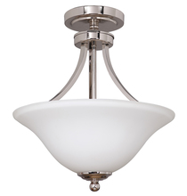 Jeremiah 9816PLN2 - 2 Light Convertible Semi Flush
