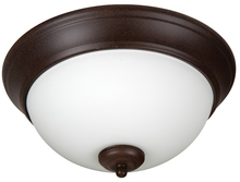 "Jeremiah XP11AG-2W - Pro Builder 2 Light 11"" Flushmount in Aged Bronze Textured"