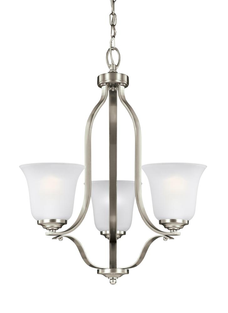 Manteca Lighting in Manteca, California, United States,  9RF1X, Three Light Chandelier, Emmons