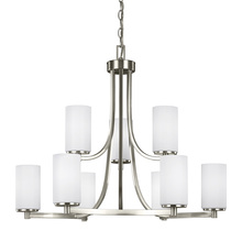 Generation Lighting - Seagull 3139109-962 - Nine Light Chandelier