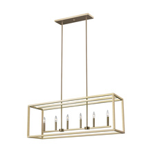 Generation Lighting - Seagull 6634506EN-848 - Six Light Island Pendant
