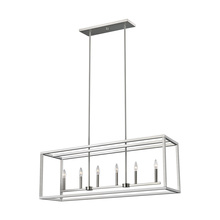 Generation Lighting - Seagull 6634506EN-962 - Six Light Island Pendant