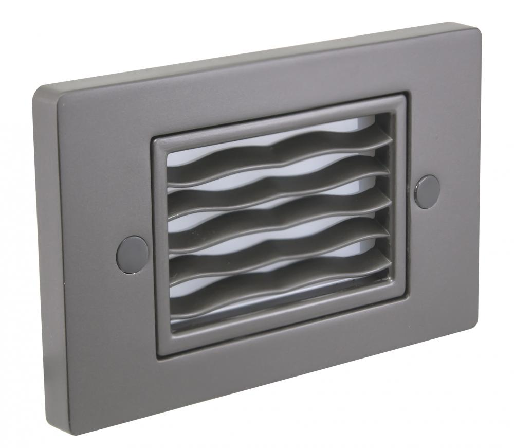Horizontal Wave Faceplate, Dark Bronze