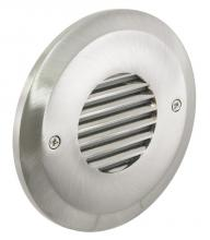 American Lighting CIR-LV-SS - Outer Circle Louvered Faceplate, Nickel