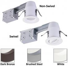 American Lighting EP3S-RE-30-WH - 3-Inch E-Pro White LED Recessed Down Light and Swivel Remodel