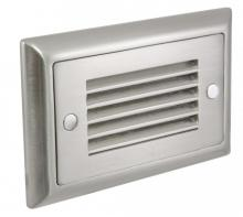 American Lighting SGL-HL-SS - Horizontal Louvre Faceplate, Stainless Steel