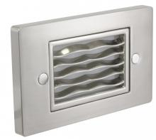 American Lighting SGL-HW-SS - Horizontal Wave Faceplate, Stainless Steel