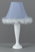 "CAL Lighting BO-5689 - 21"" Height Maid Lamp In White Finish"