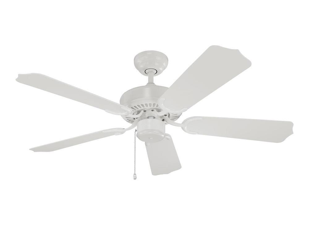 "Manteca Lighting in Manteca, California, United States,  3C8N, 42"" Weatherford II Outdoor Fan - White, Weatherford II"