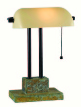 GREENVILLE BANKER LAMP