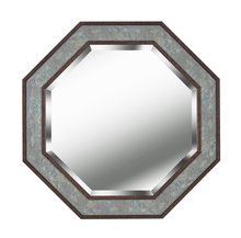 Kenroy Home 60456SLBN - Octagon Wall Mirror