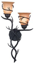 Kenroy Home 92136BRZ - Twigs 2 Light Wall Sconce