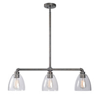 Kenroy Home 93189VM - 3 Light Island