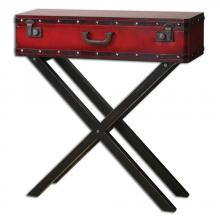 Uttermost 24379 - Uttermost Taggart Red Console Table