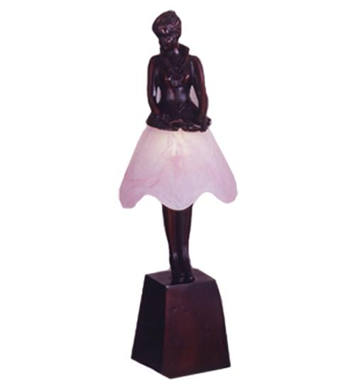 "17.5""H Silhouette Breezy Lady Accent Lamp"