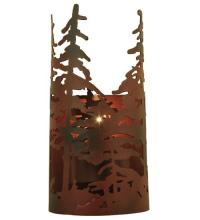 "Meyda Tiffany 117371 - 5.5""W Tall Pines Wall Sconce"