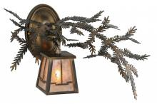 "Meyda Tiffany 147379 - 16""W Pine Branch Valley View Wall Sconce"