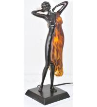 "Meyda Tiffany 24069 - 16.5""H Silhouette Aphrodite Accent Lamp"