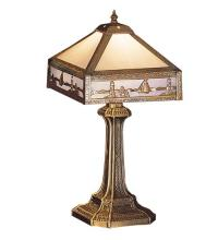 "Meyda Tiffany 26836 - 19""H Sailboat Mission Accent Lamp"